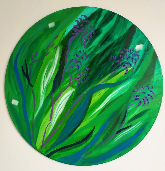 Green is the colour - Magda Hoibian Artiste