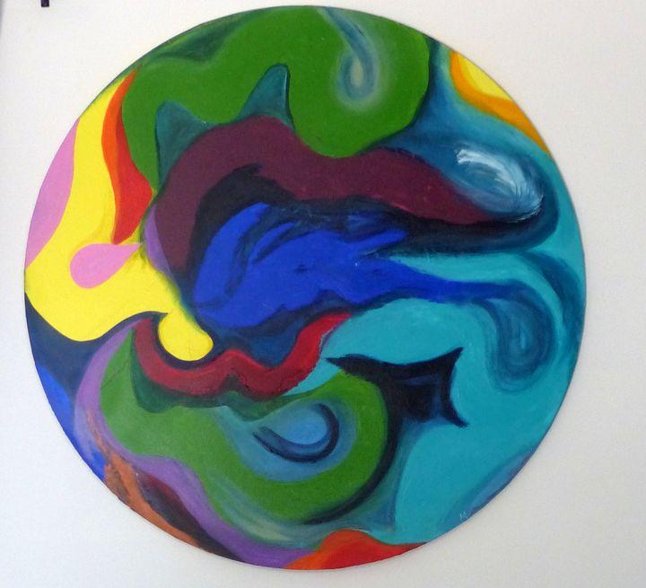 Tombé du Ciel - Magda Hoibian Artiste