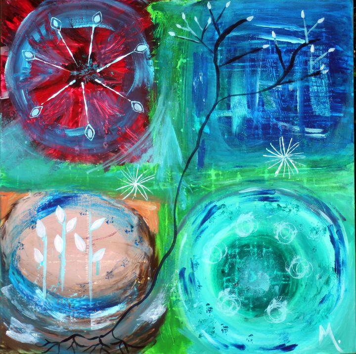 Four Elements - Magda Hoibian Artiste
