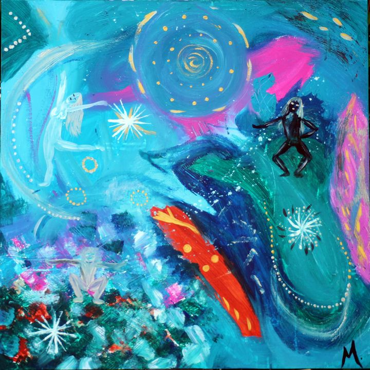 Dancing Universe - Magda Hoibian Artiste