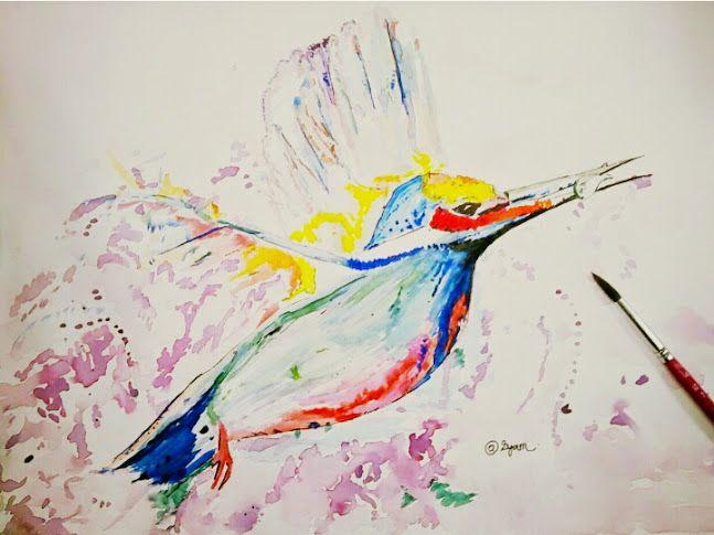 a bird in the sky - @iRy