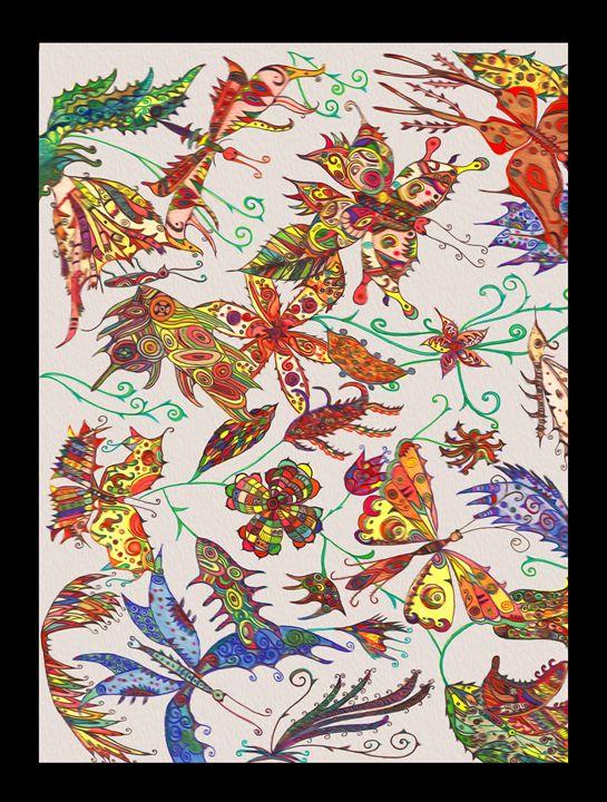 Butterflies - Indu Gamage