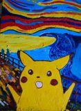 screaming pikachu