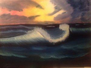 Stormy wave