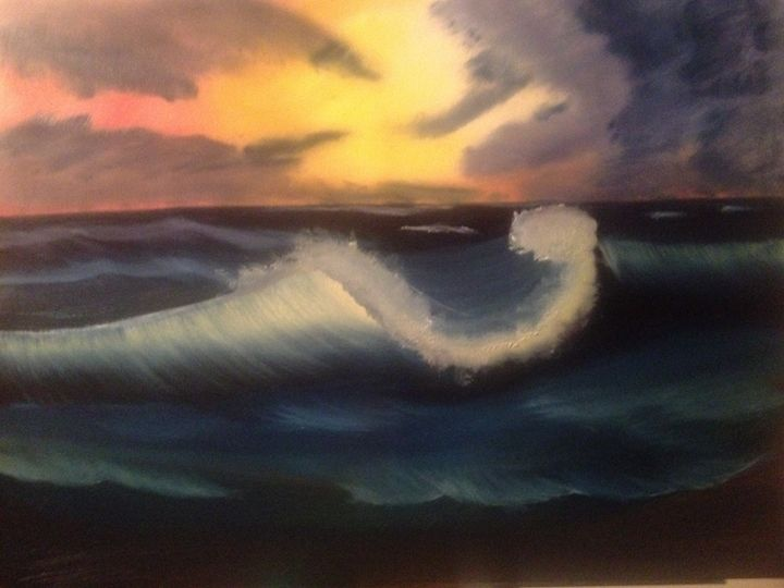Stormy wave - A love of landscapes