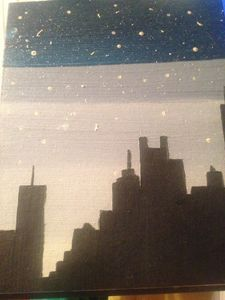 City shadow