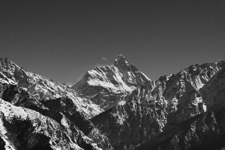 Nanda Devi Peak - Silent Artist