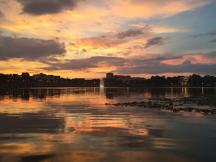 Sunset by the lake - Jax B. Photography