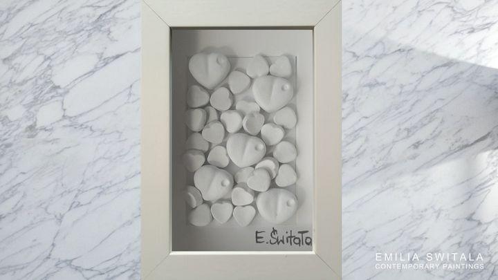 Love Sculpture - order similar - Emilia Switala Contemporary Paintings