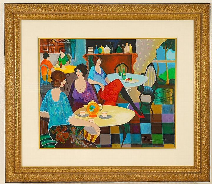 """""""Afternoon Tea"""" - Ocean View Antiques, Artefacts and Artwork"""