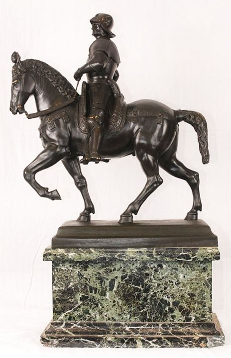 Soldier On Horse Bronze - Ocean View Antiques, Artefacts and Artwork