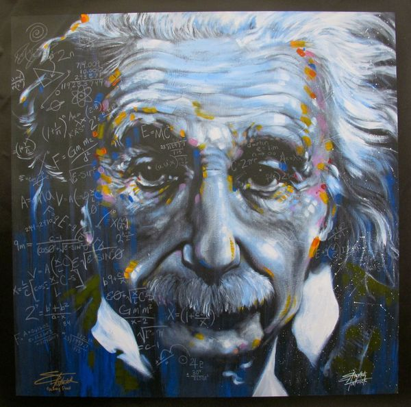 ''It's All Relative'' Einsteen - Ocean View Antiques, Artefacts and Artwork