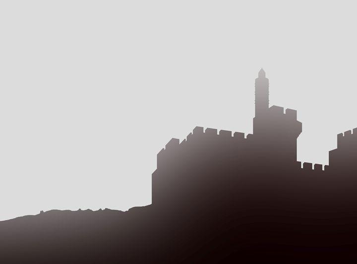 David's citadel mist - Ely Greenhut