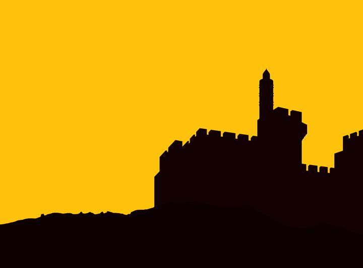 David's Citadel in Jerusalem - Ely Greenhut