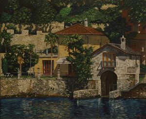 villa on the Lake