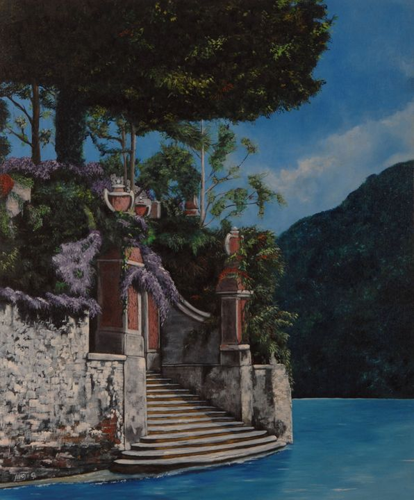 stairs on the Lake - Livoti G.