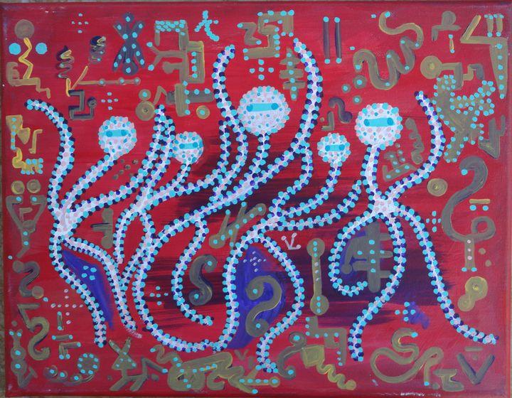 ALIEN WELCOME DANCE - nandi's universe