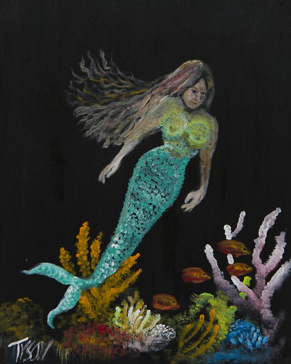 Mermaid - Tyson environmental art