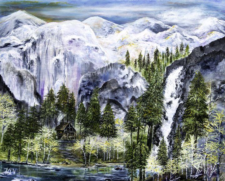 Living on the edge - Tyson environmental art