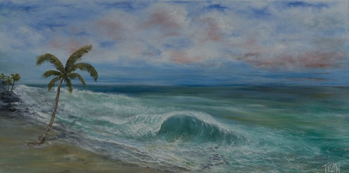 Peaceful wave - Tyson environmental art