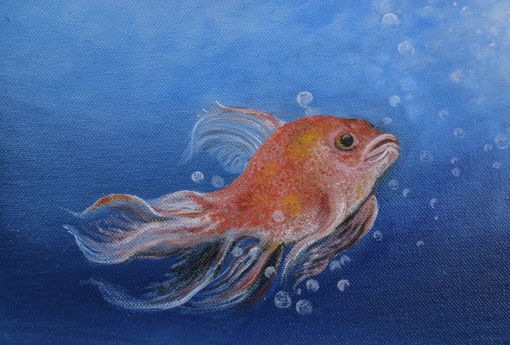 Gold fish - Tyson environmental art