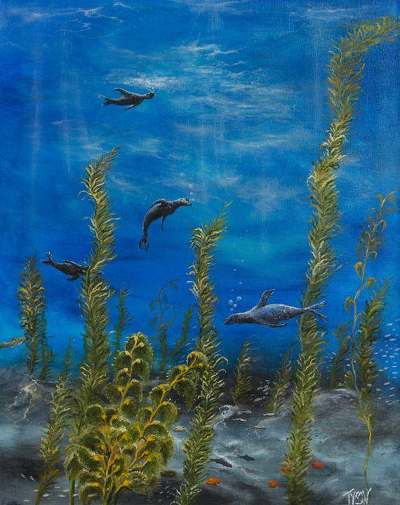 Monterey Bay - Tyson environmental art