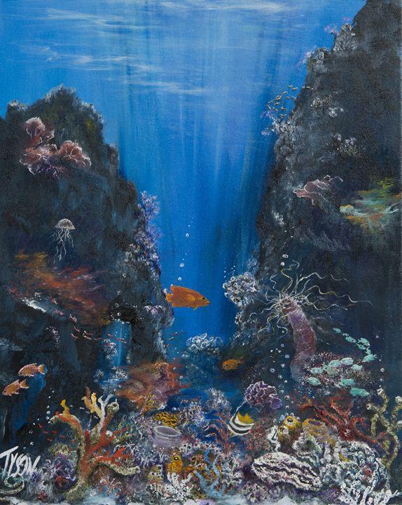 Illuminated reef - Tyson environmental art
