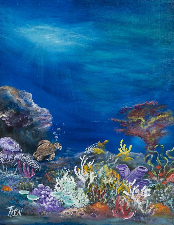 Lost but still curious - Tyson environmental art