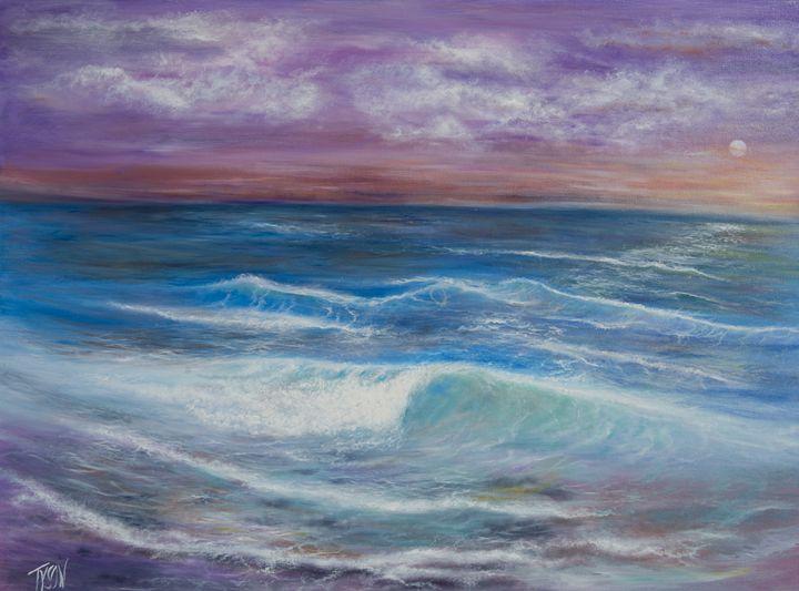 Serenity sunset - Tyson environmental art