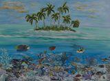 40 x 30 island painting
