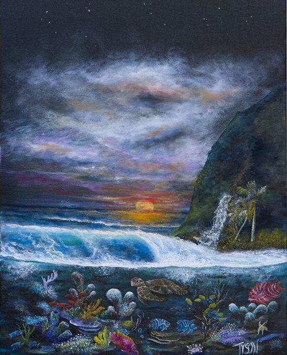 Tony's wave - Tyson environmental art