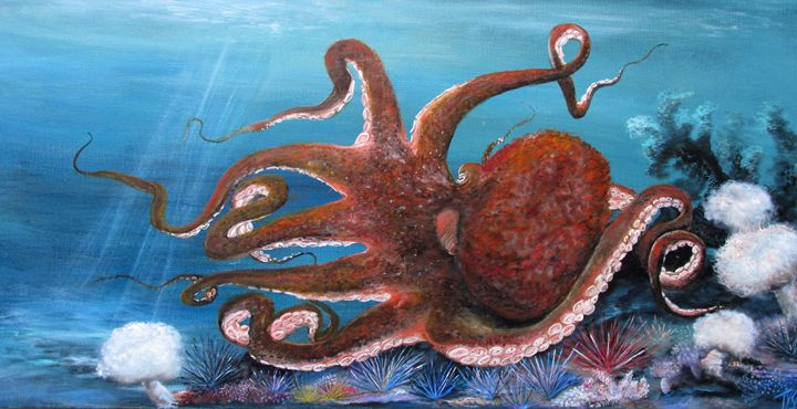 Octopus - Tyson environmental art