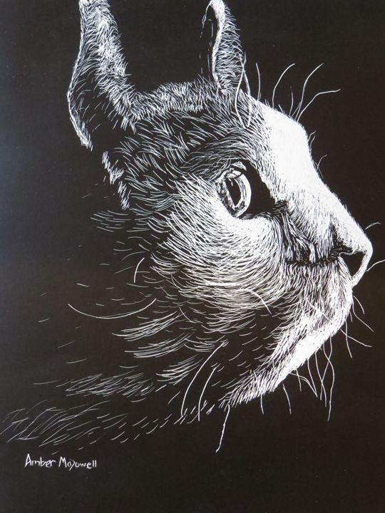 Cat Art - Amber McDowell