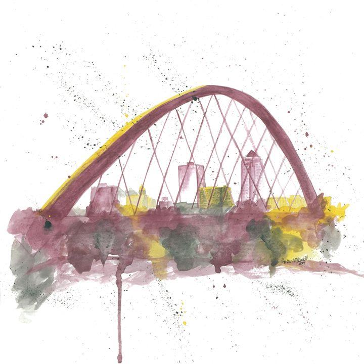 Des Moines Skyline - Amber McDowell