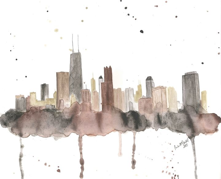 Chicago skyline - Amber McDowell