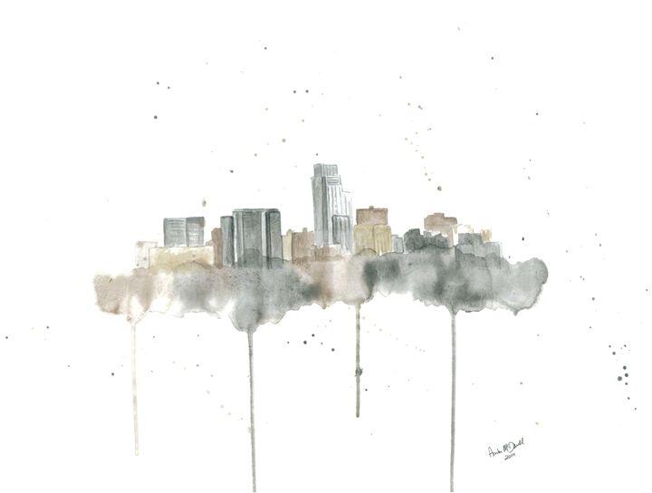Omaha Skyline - Amber McDowell