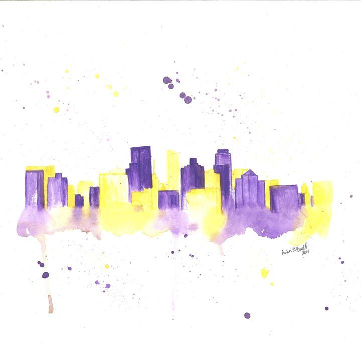 Minneapolis Skyline - Amber McDowell