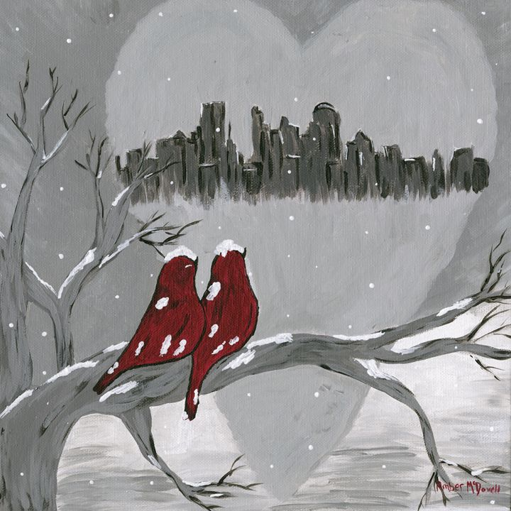 Minneapolis Love Birds - Amber McDowell