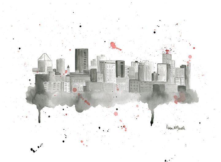 St Paul Skyline - Amber McDowell