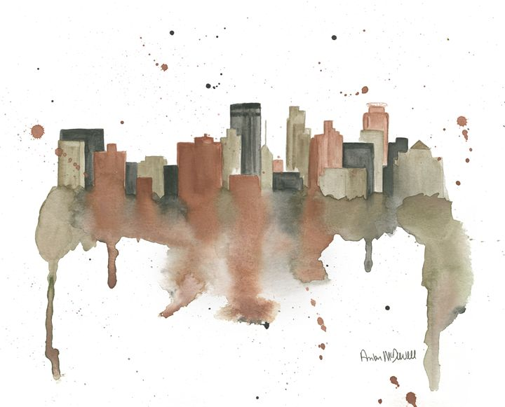 Minneapolis skyline - Amber McDowell