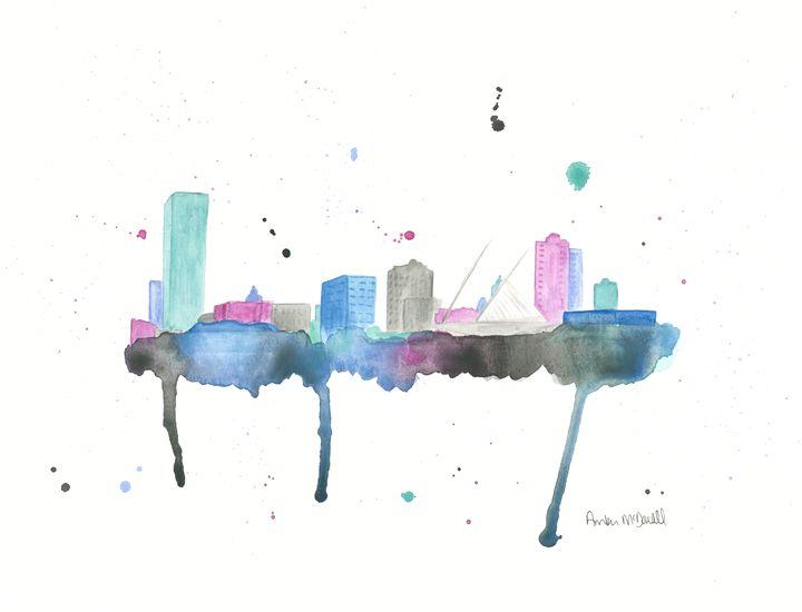 Milwaukee Skyline - Amber McDowell