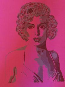 Marilyn Monroe Painting /Divine