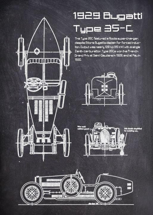 1929 Bugatti Type 35 - FARKI_DESIGN