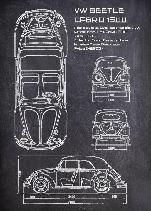VW BEETLE CABRIO 1500 - FARKI_DESIGN