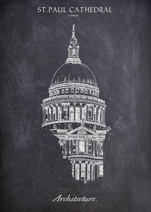 ST PAUL CATHEDRAL PERSPECTIVE - FARKI_DESIGN