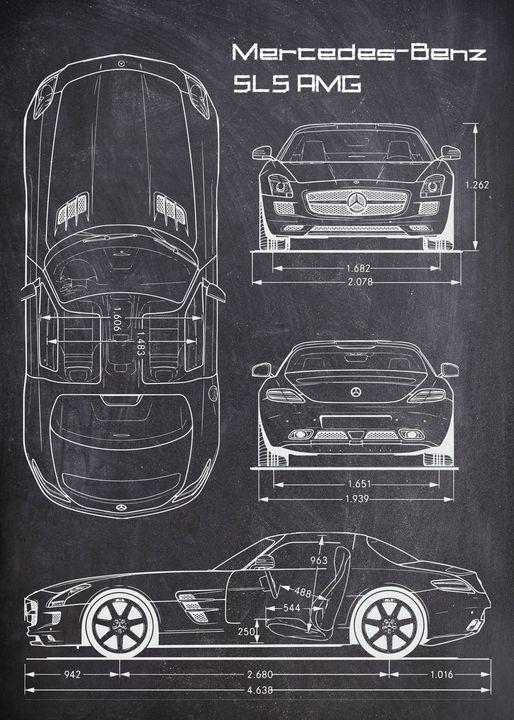 Mercedes-Benz SLS AMG - FARKI_DESIGN
