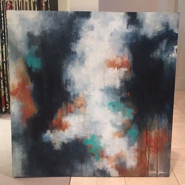 Indigo Abstract - Jordan Johnson