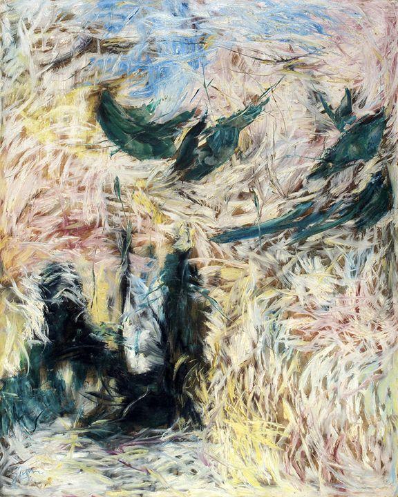 White Abstract - Deepak Shinde