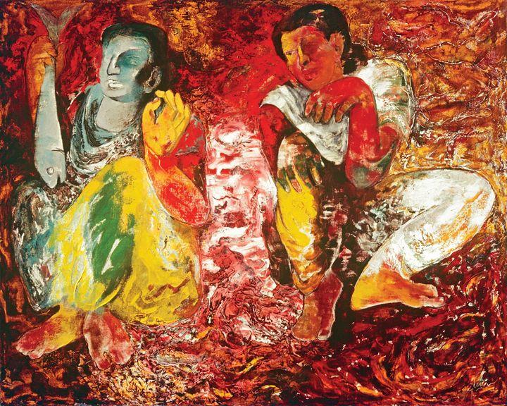 Fisher-women - Deepak Shinde