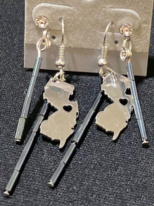 Handmade New Jersey Earrings - Meghan Glynn New Jersey Artist